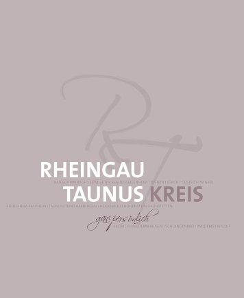 Rheingau Taunus Kreis - ganz persönlich