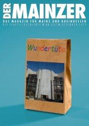 DER MAINZER - Das Magazin für Mainz und Rheinhessen - Nr. 327