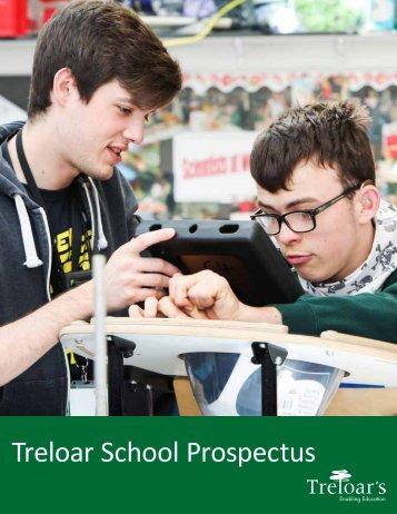 Treloar School Prospectus 2017-2018