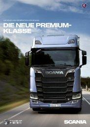 Die neue Premium-Klasse von SCANIA