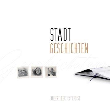 Stadt Geschichten - unsere Buchexpertise