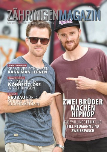 Das neue Zähringen Magazin (Dezember 2017)