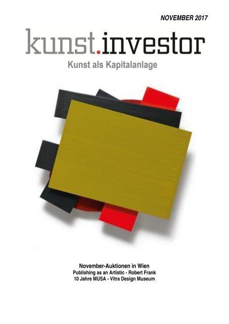 KUNSTINVESTOR AUSGABE NOVEMBER 2017