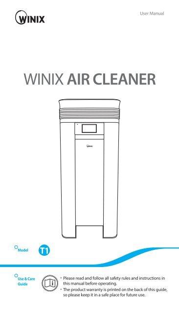 WINIX T1 Anleitung