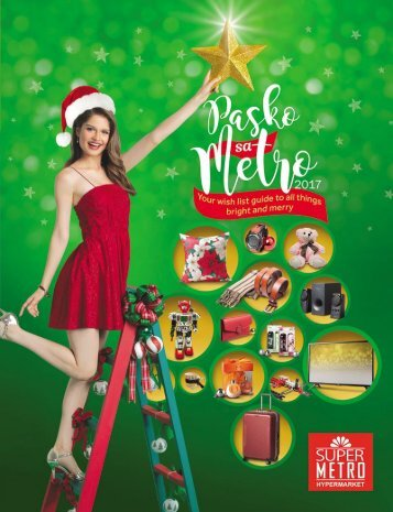 SUPER METRO CHRISTMAS CATALOG DECEMBER 2017