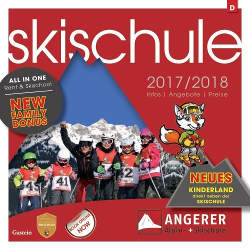 Skischule Angerer in Dorfgastein - in DEUTSCH