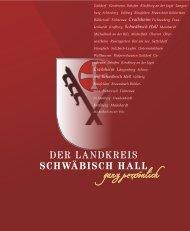 Der Landkreis Schwäbisch Hall - ganz persönlich