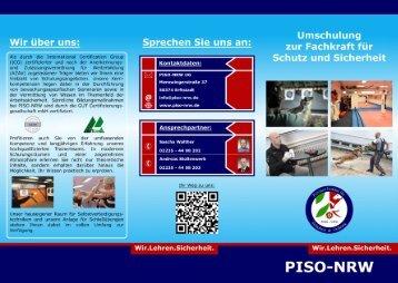 Umschulung zur Fachkraft für Schutz und Sicherheit - mit QR-Code