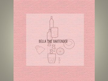 Bella Bartender's Booking Booklet
