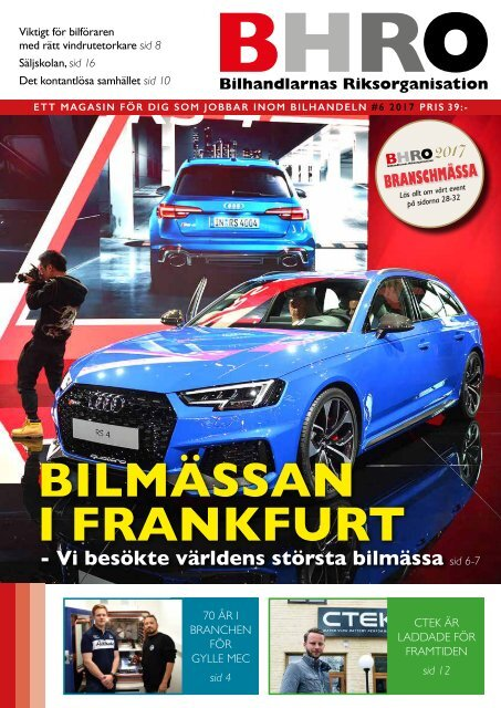 BHRO Magasin #6 2017