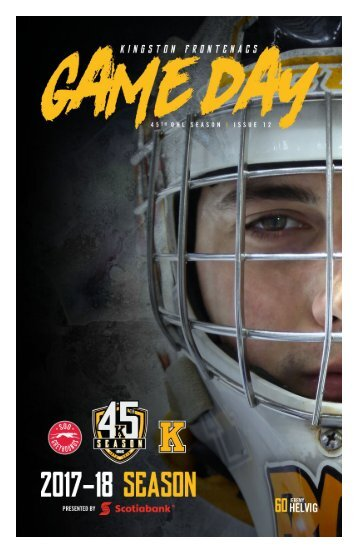 Kingston Frontenacs GameDay December 1, 2017