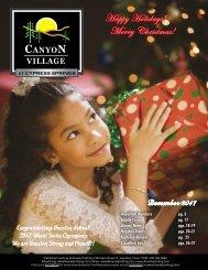 Canyon Village at Cypress Springs December 2017