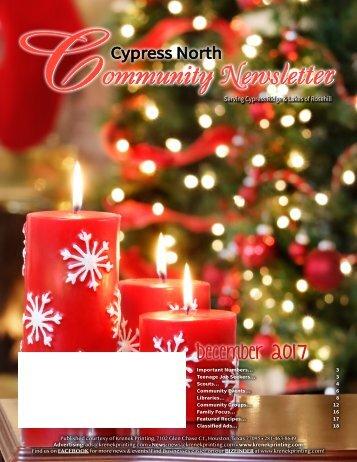 Cypress North December 2017