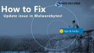How to Fix Malwarebytes installation & Scaning Issues