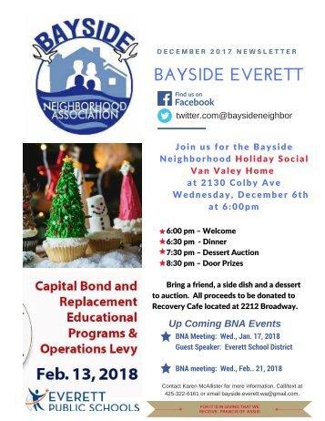 December 2017 Bayside Everett News