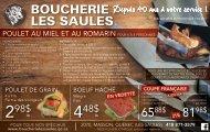 Boucherie Les Saules