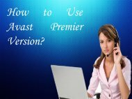 How to Use Avast Premier Version?