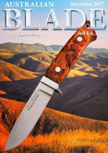Australian Blade Ed 3 Dec 2017