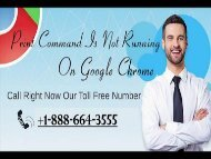 Google Chrome Technical Support Number for USA +1-888-664-3555