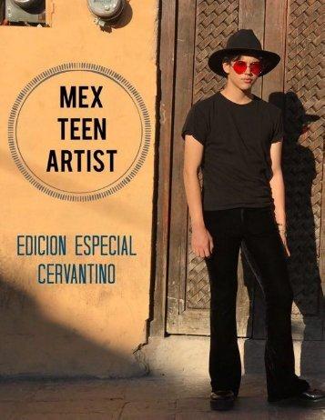 Segunda edición. Mex Teen Artist..