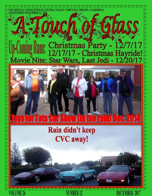 Central Valley Corvettes of Fresno - December 2017