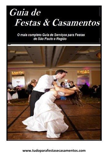Guia de festas e casamentos Dezembro/2017
