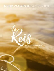 KerkvoorNuMagazine - Najaar 2016