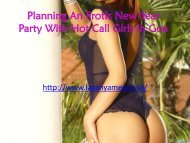 Planning An Erotic New Year Party With Hot Call Girls in Goa