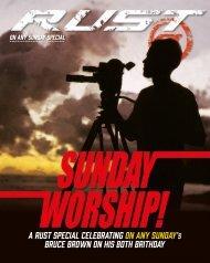 RUST magazine: On Any Sunday