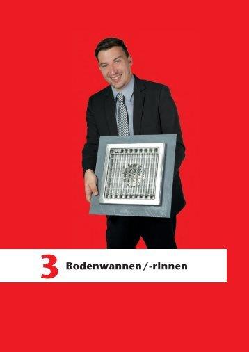 ACO Haustechnik Preisliste 2018 - 03 Bodenwannen