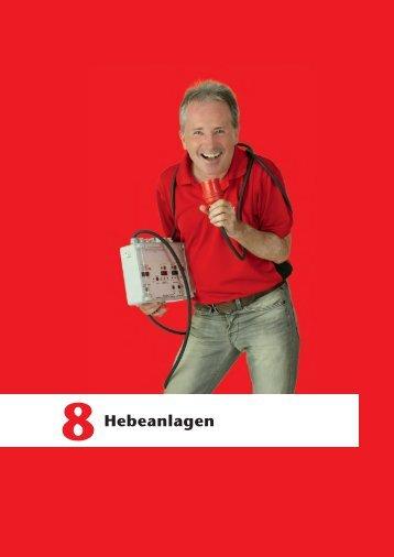 ACO Haustechnik Preisliste 2018 - 08 Hebeanlagen