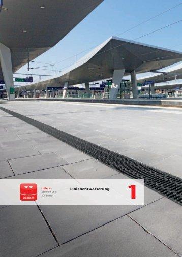 ACO Österreich Bauelemente Preisliste 2018 - 01 Linienentwässerung