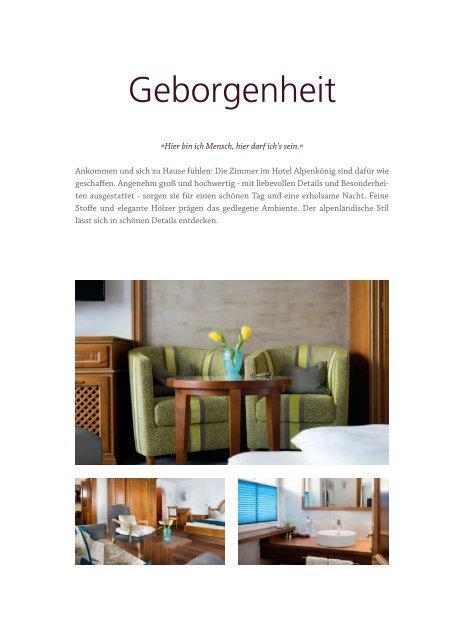 Hotel Alpenkönig Prospekt 2017