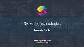 Syskode Company Profile