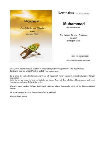 """Rezension """"Muhammad- Ein Leben für den Glauben an den einzigen Gott"""" von Sylvester Parker"""
