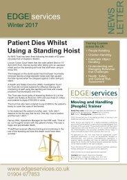 EDGE Services Winter 2017 Newsletter