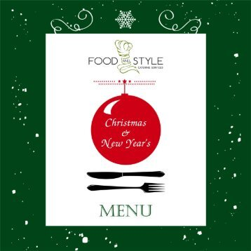 Food and Style Xmas menu