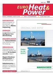 YADOS Fachartikel Nahwärmenetz Teningen - EuroHeat&Power 2017/10