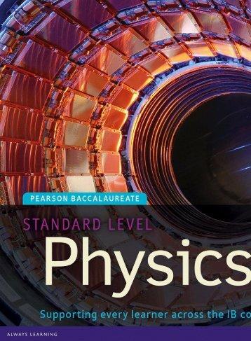 Physics SL - Chris Hamper - Second Edition - Pearson 2014