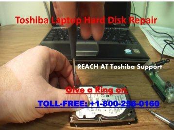 Toshiba Laptop Hard Disk Repair 800-256-0160