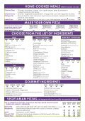 Call a Pizza - The biggest pizzas in town - 2018 Menu! - Page 4