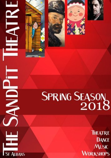 SandPit Theatre Spring 2018