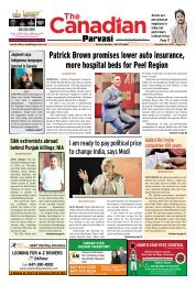 The Canadian Parvasi - Issue 23