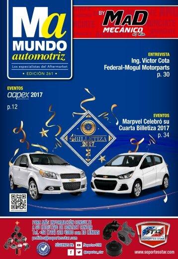 Mundo Automotriz 261 Diciembre 2017