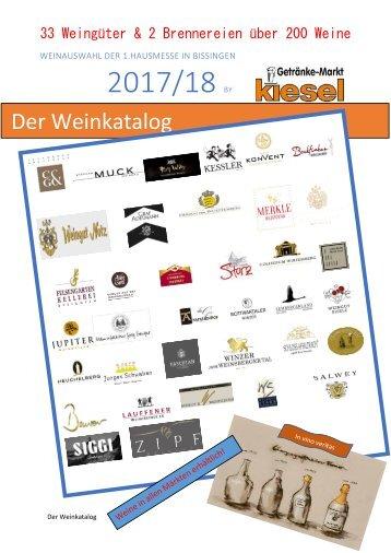 Der Weinkatalog 2017/18