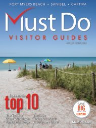 Must Do Fort Myers Sanibel Captiva Winter/Spring 2018 visitor guide
