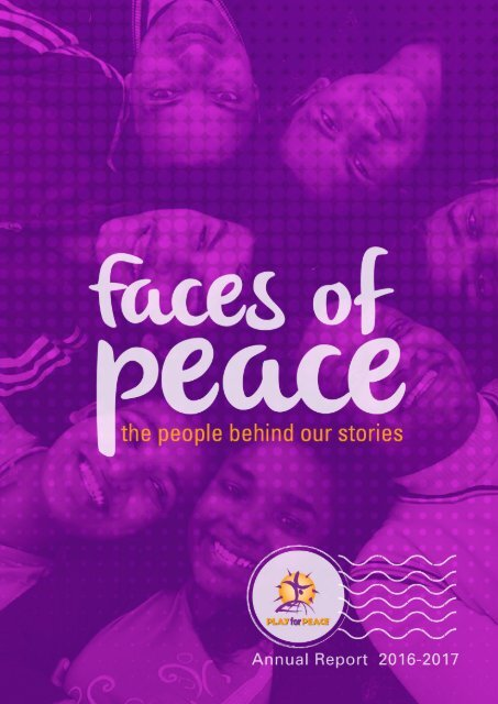 Play for Peace Annual Report 2016-2017