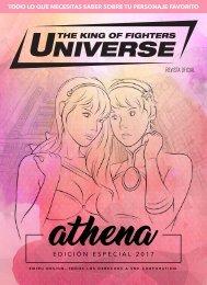 Revista KOF Universe 7 Edicion especial de Athena