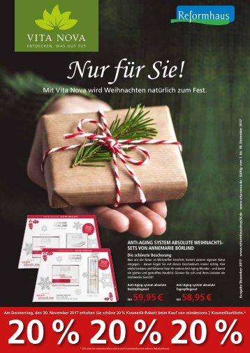 Vita Nova Angebote im Dezember 2017