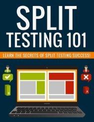 Split Testing Guide - Why Split Testing Is Important